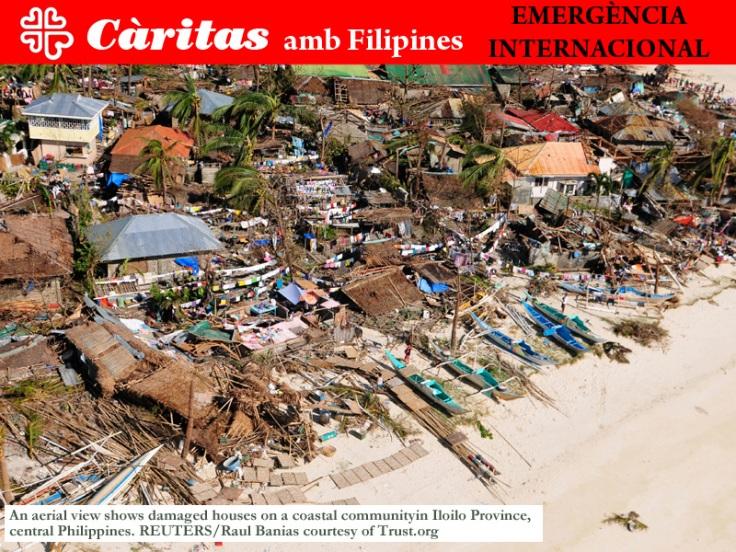 Càritas amb Filipines