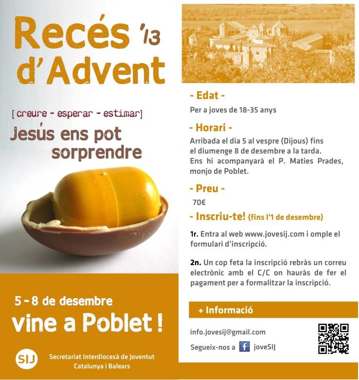 Díptic Recés d'Advent '13